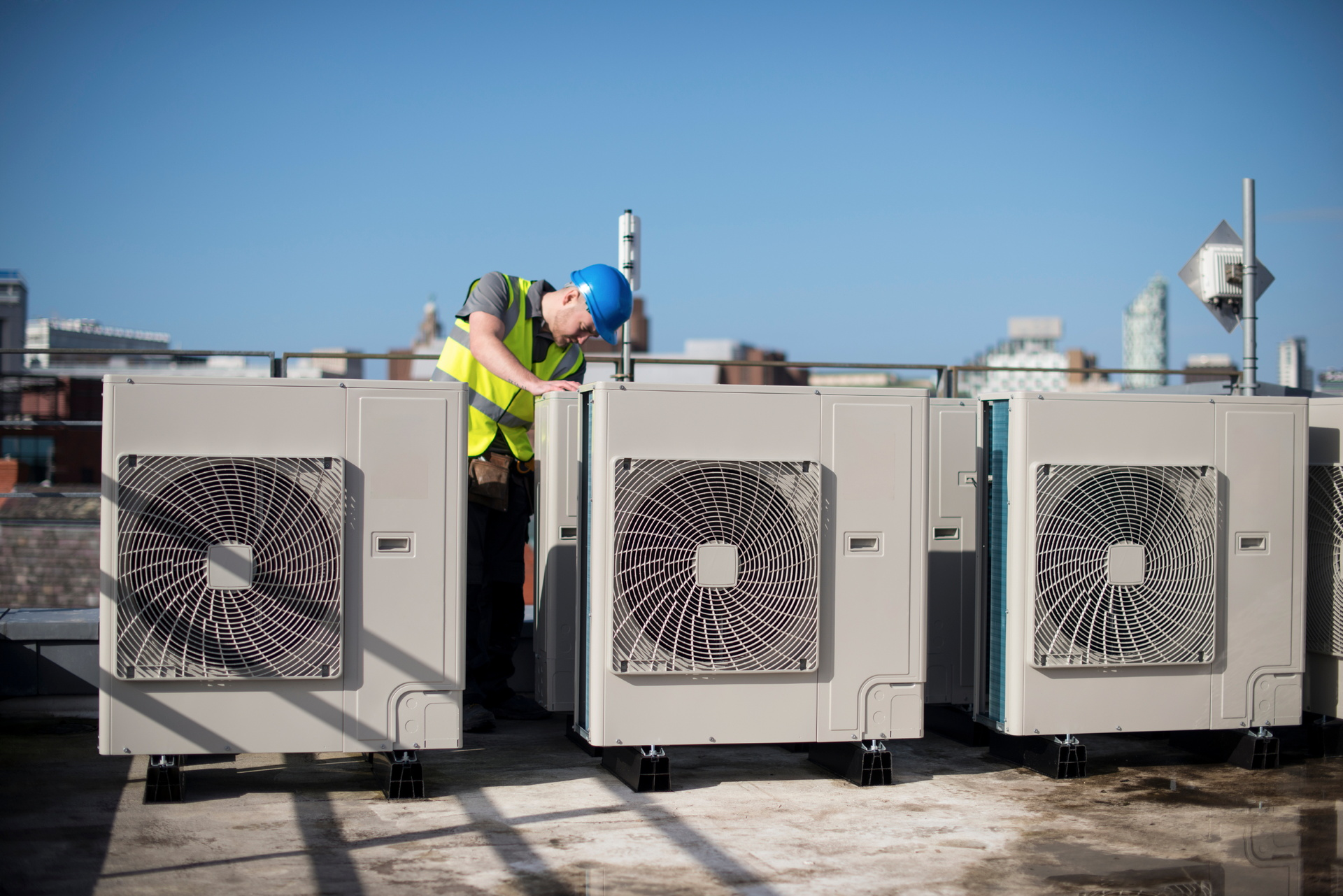 benefits of commercial rooftop ac